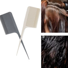 将图片加载到图库查看器,Portable Salon Highlight Weave Pin Tail Fine-tooth Styling Tool Hair Brush Hair Dyeing Comb Comb Hair Cutting Comb