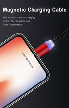 将图片加载到图库查看器,Cell Phone 3 In 1 Magnetic Braided Charging Micro Magnetic Usb Cable High Quality 3 in1 Fast Charger Cable Line