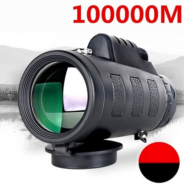 Newest HD Monocular Telescope Dual Focusing Adjustment Low Light Night Vision Binocular Spotting Scope Hunting Watching