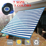 Sun Shade Sail Garden Patio Swimming Pool Awning Canopy Sunscreen UV Outdoor