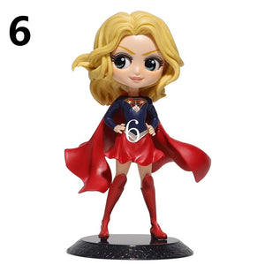Sexy Figure Catwoman Wonder Woman Harley Quinn Supergirl PVC Action Figure Anime Figurines Collectible Dolls Kids Toys