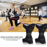 1pc/2pcs Knee Booster Joint Support Knee Pads Patella Knee Strap Tibial Booster Powerful Rebound Spring Force for Gym Running Walking Mountain Climbing