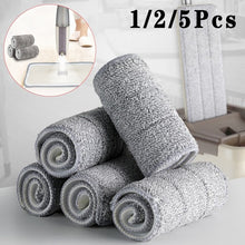将图片加载到图库查看器,1/2/5Pcs Floor Mop Cloth Replace Rag Mop Self Wet and Cleaning Paste Mop Dry Cleaning Mop Floor Cloth Home Bathroom