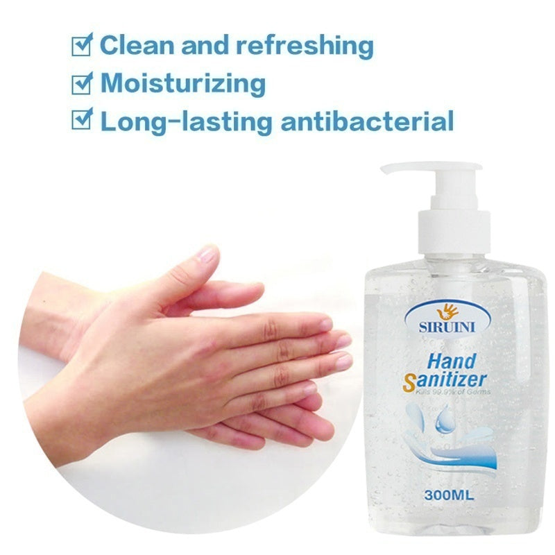500ML Hand Sanitizers Refreshing Gel Advanced Antibacterial Gel 75% Alcohol