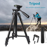 Tripod For Camera Bracket Mobile Phone Photograph Portable Video Professional Tripod Selfie