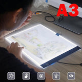 A3 A4 LED Painting Tracing Board Copy Pad Panel Drawing Tablet Art Artcraft Stencil