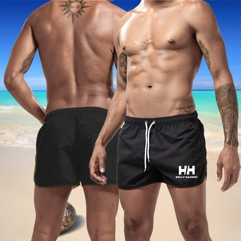 Fashion Brand Printed Quick-Dry Shorts For Men Summer Swimming Wear Beach Shorts Fitness Pants