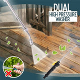 30/48/58/72CM Dual High-Pressure Washer Nozzle Washing Water Power Washer Air Conditioning Range
