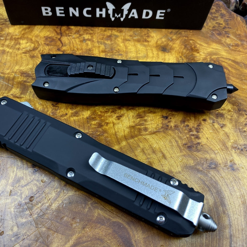 BM C07 Tactical Knives AUTO EDC Spring Assist Knife Fixed Blades Double Edge Survival Knifes Camping Hunting Cutting Knifes Fast Opening