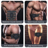 EMS Smart Hip Trainer Wireless Muscle Stimulator Buttock Abdomen Pad Arm Leg Toner Fitness Body Shaper Unisex Workout Equiment