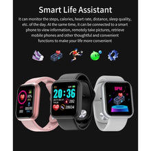 将图片加载到图库查看器,2020 New Men Smart Watch Heart Rate Blood Pressure Blood Oxygen Monitor IP67 Waterproof Fitness Tracker Wristband Bluetooth Wristwatch Smart Band Sport Smartwatch for IOS Android