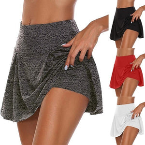 Summer New Ladies Fashion Casual Short Skirt Quick-drying Yoga Sports Fitness Short Skirt