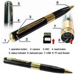 New Mini DVR Pen Meeting Record Video Pen Camera  Digital Video Recorder Surveillance Camcorder