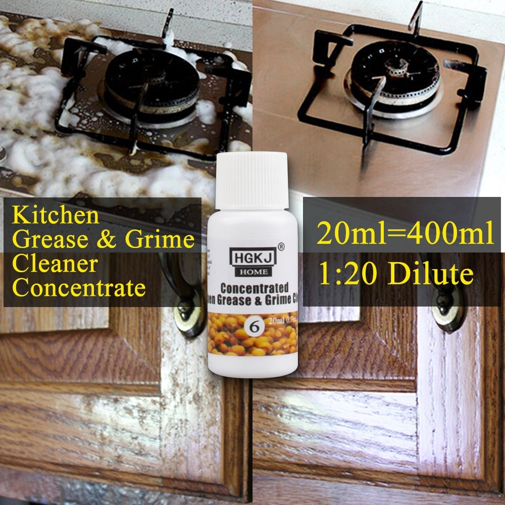 Kitchen Grease Remover Multi-Purpose Foam Cleaning Scale Detergent Grime Concentrate Cleaner