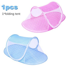 将图片加载到图库查看器,0-5 Years Baby Bed Tent Portable Foldable Mosquito Net Newborn Bedroom Travel Bed Baby Bed