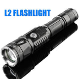 2020 New Powerful 999900000LM Flashlight Lampe Torche USB Rechargeable Waterproof LED Lamp Ultra Bright