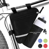 Bicycle Triangle bag with water bottle bag,cycling rack bag for men women,MTB road bike frame bags,bike accessories no bottle