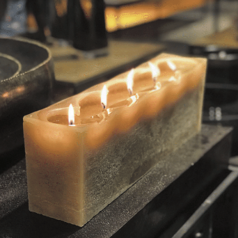 Dekocandle Walls | Large Rectangular Candle