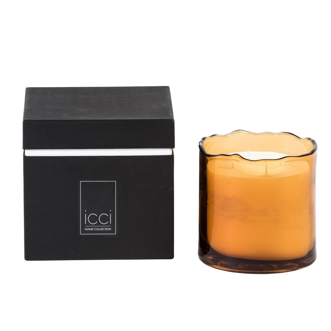 Dekocandle Amber | Large Scented Candle