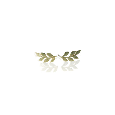 Olive Branch Pendant Necklace