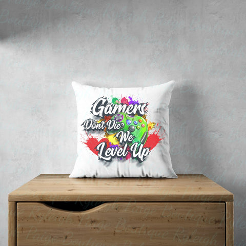 Gamers level Satin pillows | Ryleigh Paige Boutique