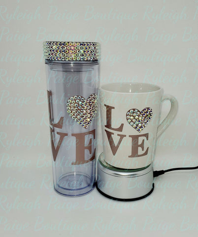 Valentine set mug & Tumbler | Ryleigh Paige Boutique