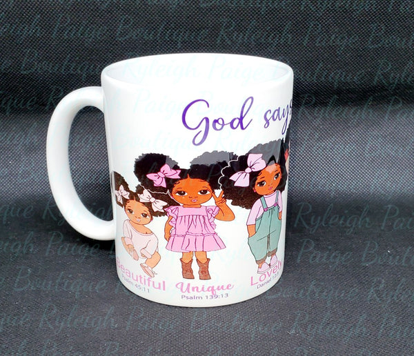Kids Sublimation mugs | Ryleigh Paige Boutique
