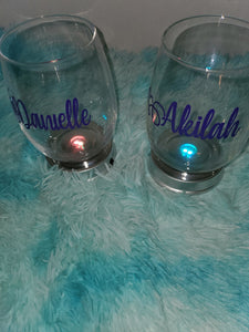 Stemless glass | Ryleigh Paige Boutique