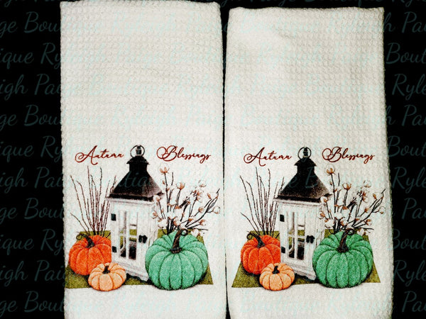2 Kitchen Waffle Towels | Ryleigh Paige Boutique