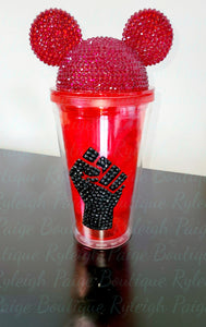 Bling 16 oz Tumbler w/rhinestone decal | Ryleigh Paige Boutique