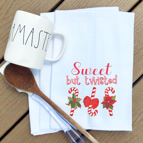 Holiday Kitchen Waffle Towels | Ryleigh Paige Boutique