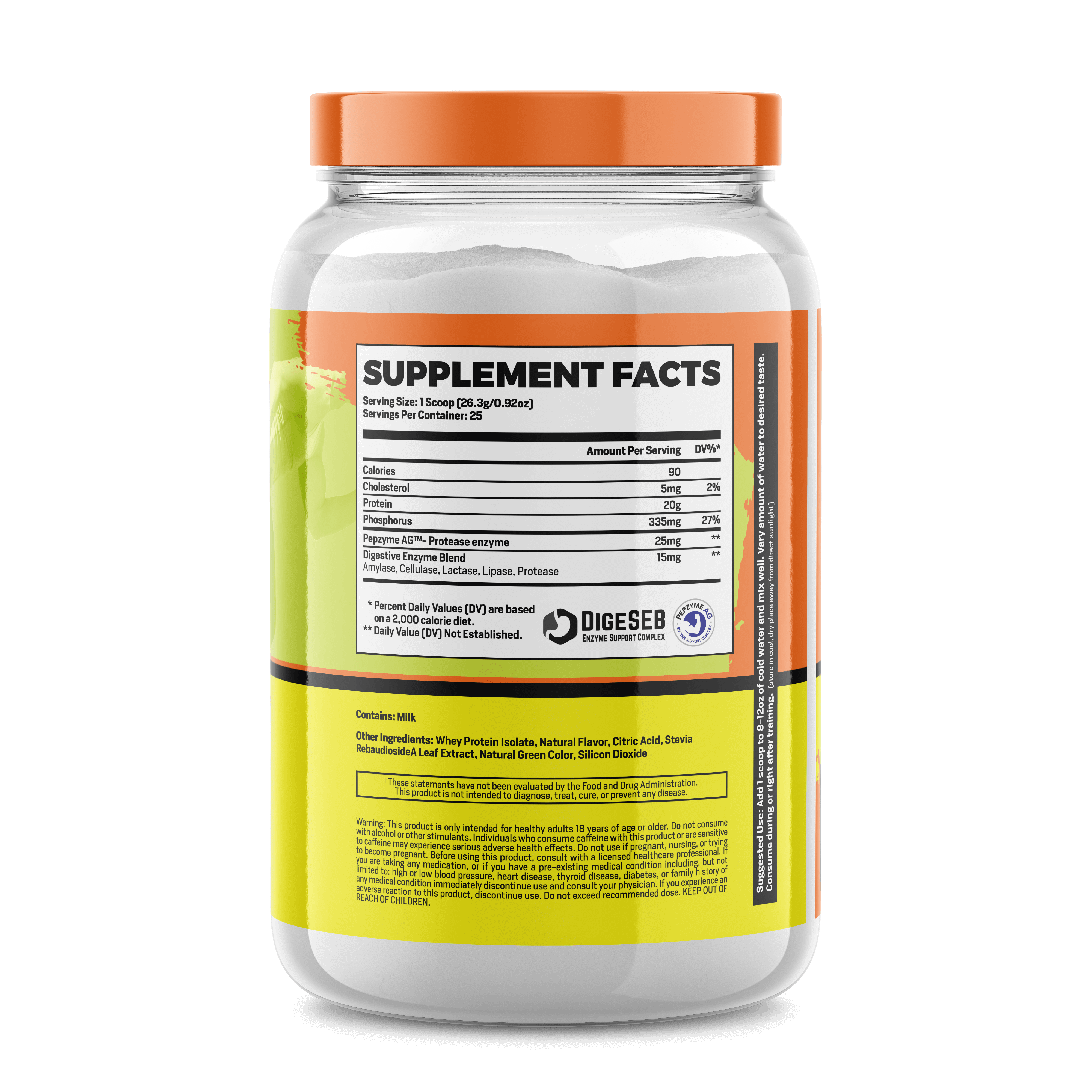 ISO (CLEAR WHEY PROTEIN)
