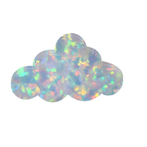 Opal Cloud Necklace FiercelyGreen