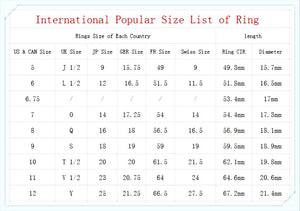 cactus ring size chart fiercelygreen