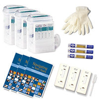 3-Pack Complete Home Test Kits