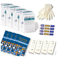 4-Pack Complete Home Test Kits
