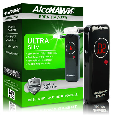AlcoHAWK® Slim Ultra Breathalyzer