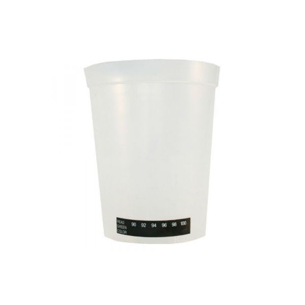 180ml Wide-Mouth Beaker Urine Cup W/Temp Strip Indicator