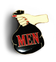 Load image into Gallery viewer, Men Are Trash Enamel Pin