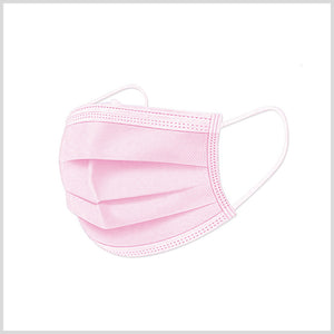 핑크 덴탈 마스크 500장 | Disposable Medical Face Mask Pink Color 500ea