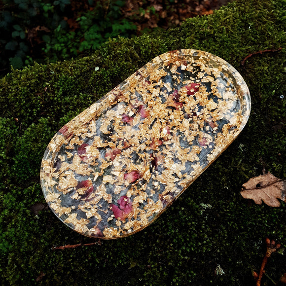 Oval Resin Trinket Dish - Tilly Anne Designs