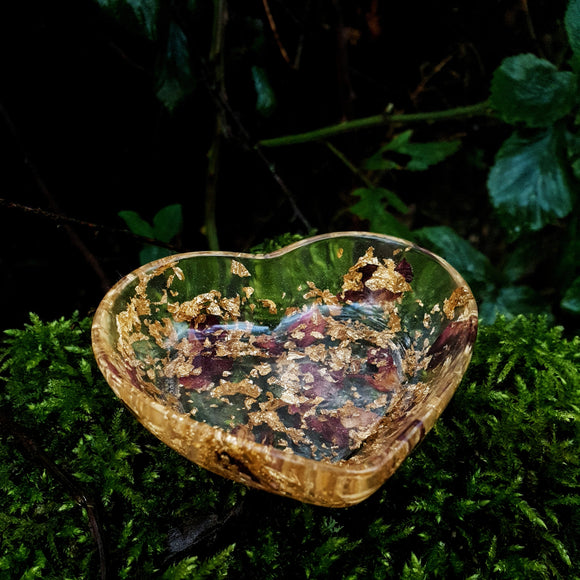 Small Heart Resin Trinket Dish - Tilly Anne Designs