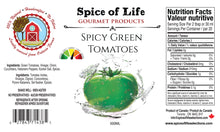 Load image into Gallery viewer, SPICY GREEN TOMATOES