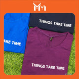Lady T-Shirt #75062 L Size [Things Take Time]