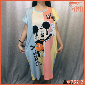 Lady Pajamas #75212 [ Mickey Girls ]