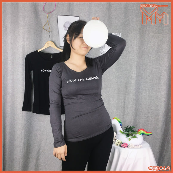 Lady Shirt #75069 S Size [ Now or Never ]
