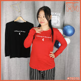 Lady Shirt #75070 M Size [ Walking on the moon ]
