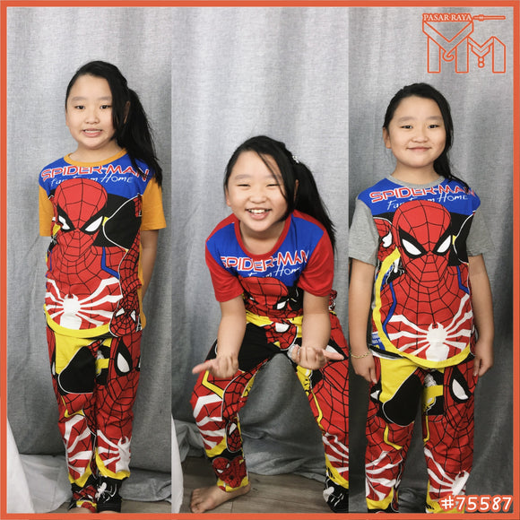 CHILD SET #75587 [ SPIDERMAN ]