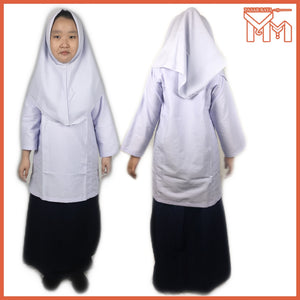 SCHOOL UNIFORM PRIMARY SCHOOL BAJU KURUNG BLOUSE KOSHIBO