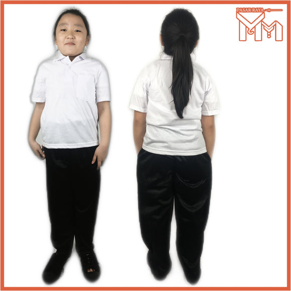 SCHOOL UNIFORM COLLAR SHORT SLEEVE SHIRT
